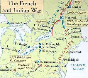 indian battles | French Indian War Map | American Indian ...