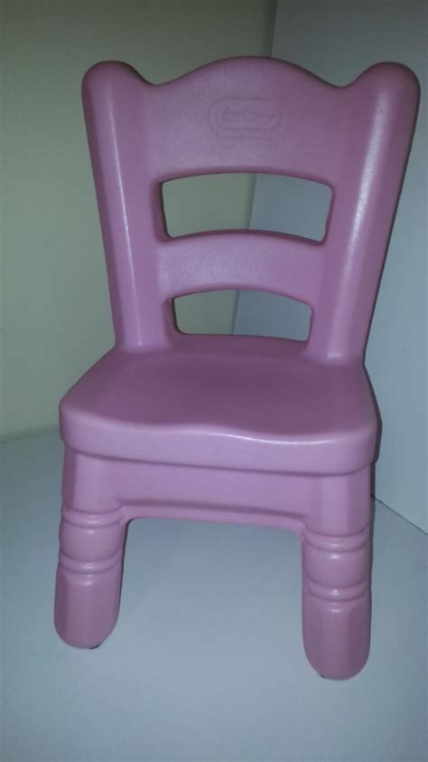 tikes pink chair for tender table