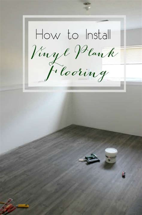 One Room Challenge {week Three}  How To Install Vinyl