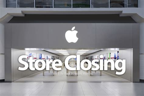 apple gardens mall apple in palm gardens mall closing for 4 to 6