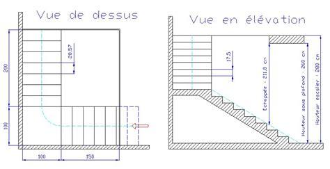 calcul escalier avec palier recherche escalier