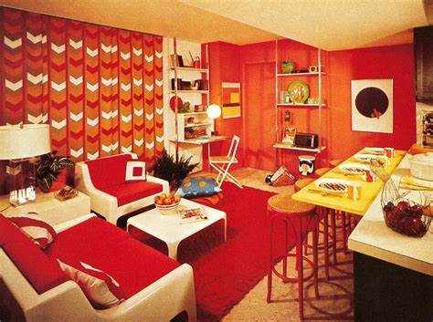 Home Interior 1970s :  Five Common 1970s Decor Elements