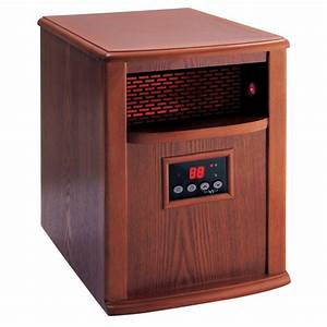 American Comfort 1500-Watt Portable Infrared Heater Solid ...