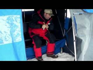 Ice Fishing Crappies With The New Lindy Darter - YouTube