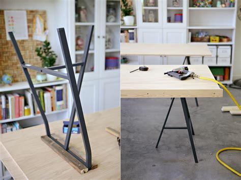 stunning diy ikea lerberg trestle leg tables with tables manger ikea