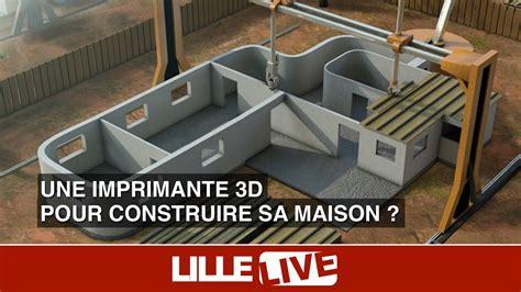 une imprimante 3d pour construire sa maison