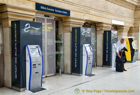 eurostar ticket office at gare du nord