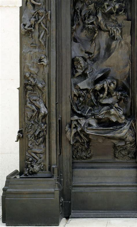 la porte de l enfer mus 233 e rodin
