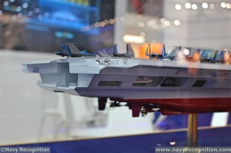 Catamaran Design Features by Russia S Krylov Light Aircraft Carrier Project Features