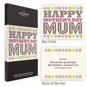 happy mother's day chocolate by quirky gift library ...