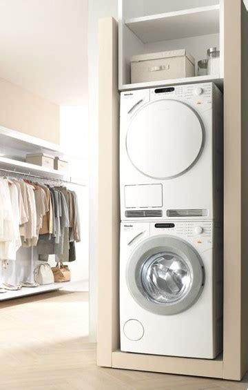 poser seche linge sur machine a laver maison design bahbe