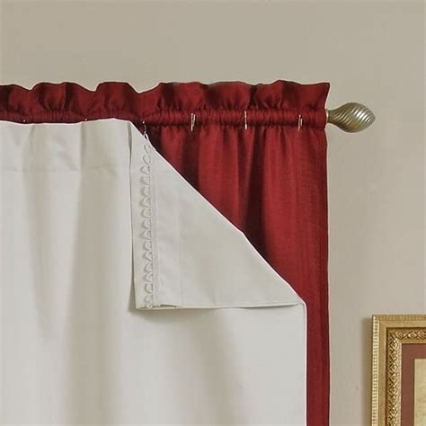 blackout thermal curtain liners diy