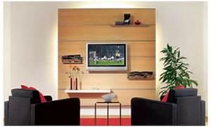 Tv An Wand Anbringen : tv multifunktionswand ~ Markanthonyermac.com Haus und Dekorationen