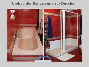 Umbau Wanne Zur Dusche : aus ihrer alten badewanne wird ein ger umiges duschvergn gen wannenwechsel rohe des webseite ~ Markanthonyermac.com Haus und Dekorationen