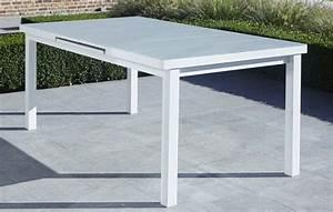 Table Jardin Blanche. blanche tables de jardin blanc m tal ...