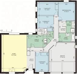 plan maison contemporaine 120m2 maison moderne