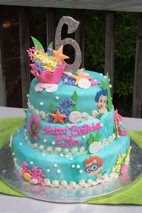 best 25 guppies birthday cake ideas on