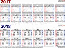 2018 Calendar Pdf weekly calendar template