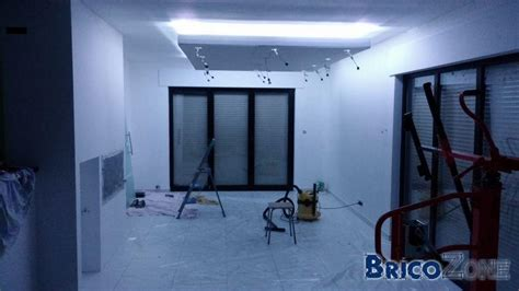 eclairage indirect faux plafond