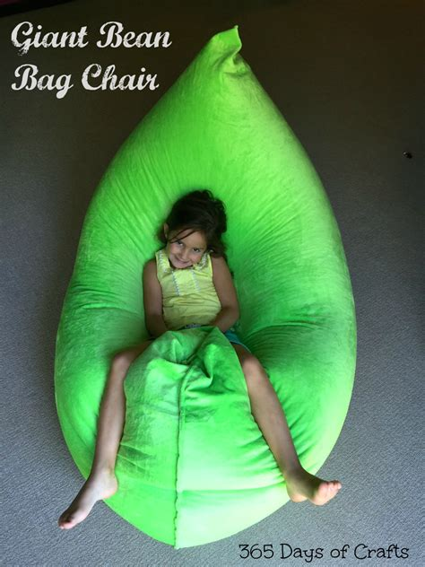 make a fatboy inspired bean bag chair 365 days of crafts diy and craft inspiration for you