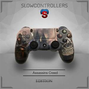 SlowControllers - PS4 Controller Assassins Creed