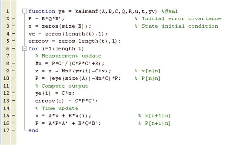 from matlab to embedded c