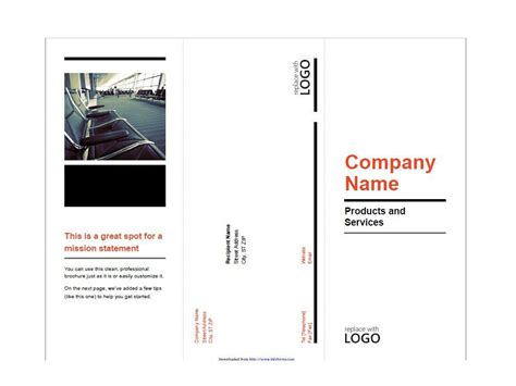 Brochute Template Free Download by 31 Free Brochure Templates Word Pdf Template Lab