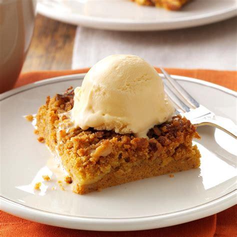 great pumpkin dessert recipe taste of home