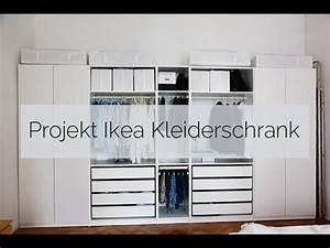 Günstiger Kleiderschrank Ikea : projekt ikea kleiderschrank youtube ~ Markanthonyermac.com Haus und Dekorationen