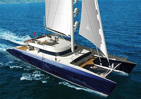 Huge Catamaran Yacht by World S Largest Luxury Catamaran Unveiled And It S Yours