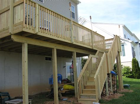 Pressure Treated Wood Deck In Seven Valleys, Pa Stump's