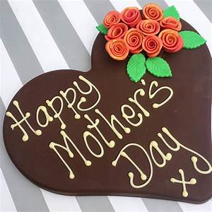 happy mothers day chocolate heart by sweet trees ...