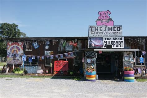 the shed bbq gulfport mississippi connect with history and in mississippi