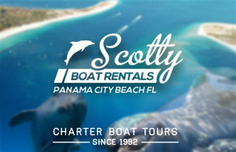 Scotty Boat Rentals Panama City Beach Florida by Panama City Beach Attractions Afunbeach