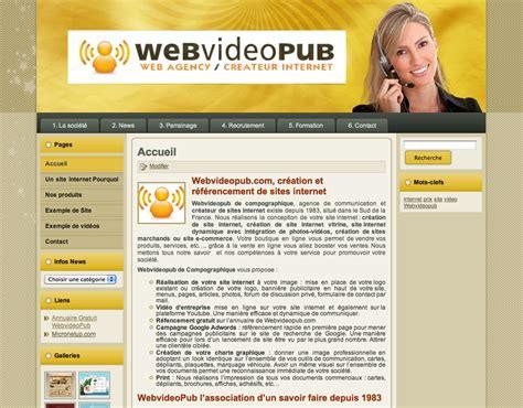 exemple de site cr 233 ation de site marseille webvideopub de micronetup votre site