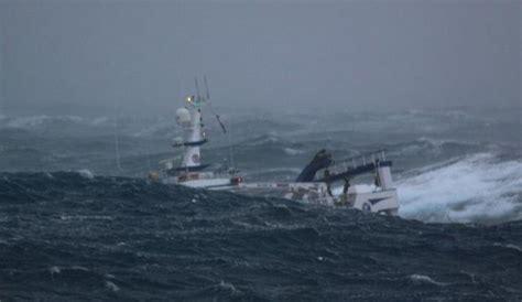 Big Sailboat Jobs by Massive Waves Pummel Fishing Boat In The North Sea 10