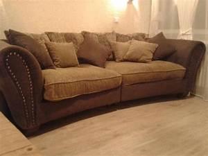 Big Sofa Vintage : vintage big sofa braun beige mit nieten in kaarst polster sessel couch kaufen und ~ Markanthonyermac.com Haus und Dekorationen