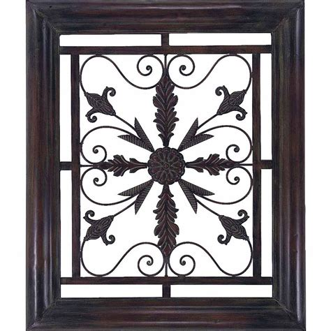 propac images metal scroll frame wall contemporary