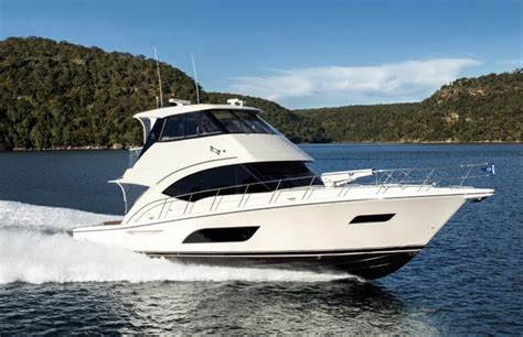 Boats Online Riviera by New Riviera 57 Enclosed Flybridge Power Boats Boats