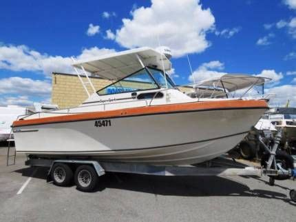 Boats Perth Gumtree by Baron Super Sports 23 Looks Brand New Motorboats