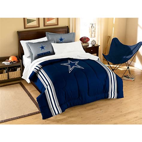 Decorating Ideas Dallas Cowboys Bedroom by Dallas Cowboys Applique Comforter Bedding Set