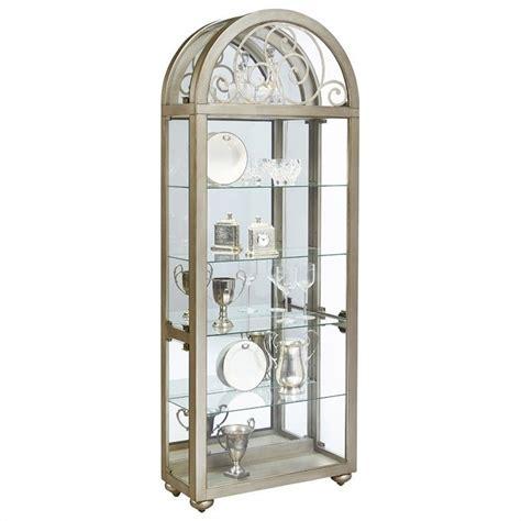 pulaski metallic curio cabinet ebay