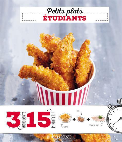 cuisine cinq livres de recettes faciles pour 233 tudiants