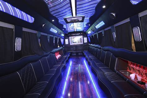 Should I Charter A Limo Or Party Bus  Pros And Cons Of