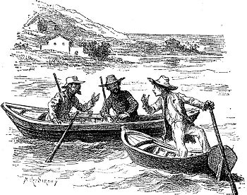 Three Men In A Boat Chapter 16 by The Adventures Of Huckleberry Finn Chapter 16 Summary