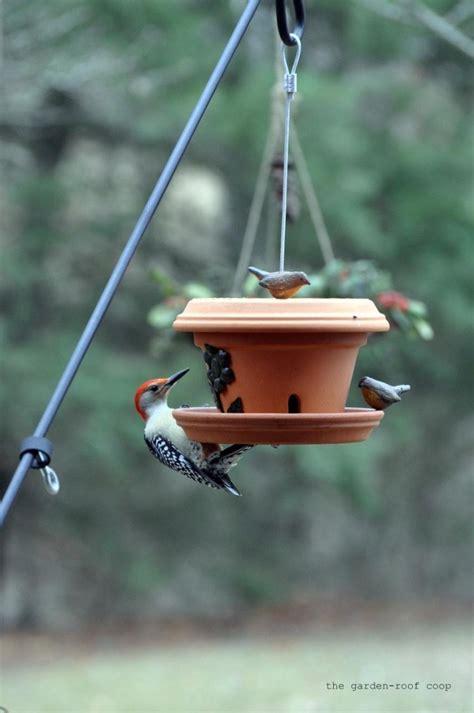 s bird gardens diy flowerpot bird feeder