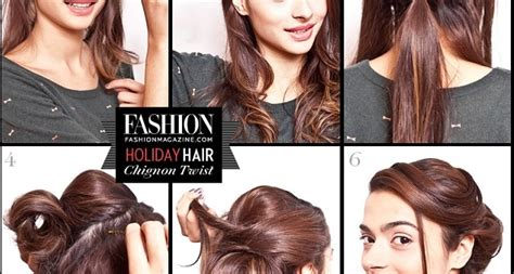 Practical And Elegant Twisted Chignon Updo Hairstyles Tying Up Hair Images Of Good Updos Glasses Medium Length And Bangs Tutorial Videos Green Band Growth Tips In Malayalam African American Short 2014