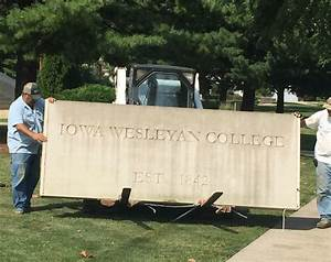 Stay tuned, new university signage coming next week ...