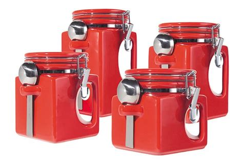5 Best Red Canister Set  Convenient And Attractive