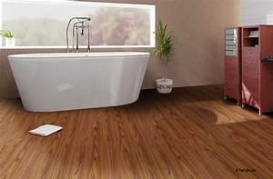 Boden Für Badezimmer : holzboden im bad mit parkett im badezimmer gestalten sie ein v llig anderes raumgef hl my ~ Markanthonyermac.com Haus und Dekorationen